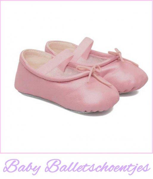 Ballet Cadeau Voor Een Meisje Babyballetshoeleather
