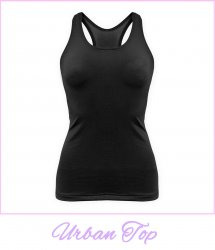 Racerback top stretch spandex katoen van Dancer Dancewear